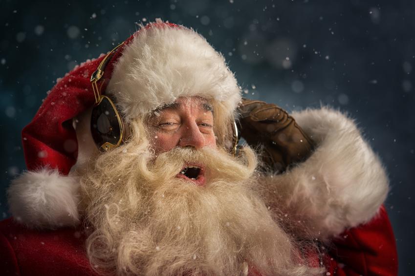 Weihnachtliche Wartemusik