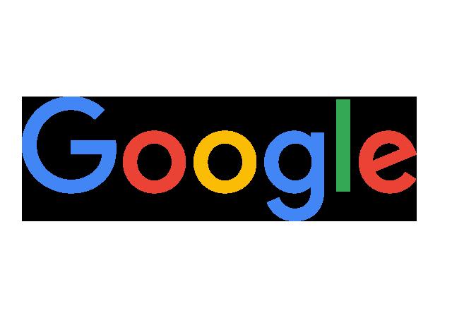 Google Logo bei Google Keynote