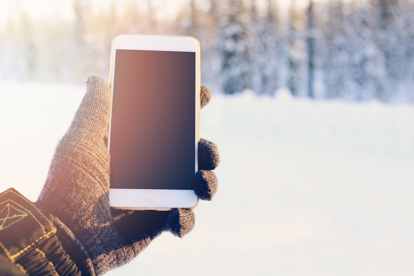 Smartphone-Reinigung